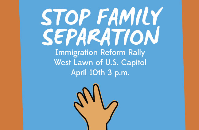 Immigration Rally Poster